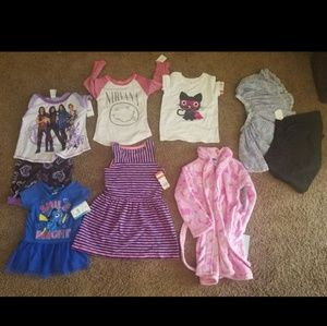 Other - Size 5T-9pc girls lot ALL NEW with tags